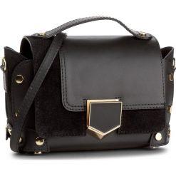 Torebka CREOLE - K10451 Czarny. Czarne torebki klasyczne damskie Creole, ze skóry, duże. W wyprzedaży za 189,00 zł.