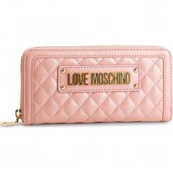 Duży Portfel Damski LOVE MOSCHINO - JC5612PP17LA0600 Rosa. Czerwone portfele damskie Love Moschino, ze skóry ekologicznej. Za 429,00 zł.