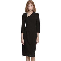 Sukienki asymetryczne: Sukienka w kolorze czarnym