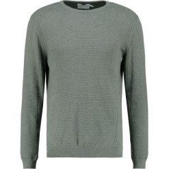 Swetry klasyczne męskie: Topman SLIM FIT Sweter khaki/olive