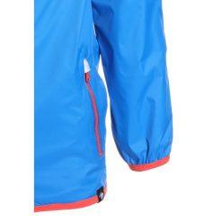 Regatta LEVER II Kurtka przeciwdeszczowa skydiver blu. Niebieskie kurtki chłopięce przeciwdeszczowe Regatta, z materiału. Za 129,00 zł.