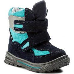 Buty zimowe chłopięce: Śniegowce RENBUT – 12-1463 Granat
