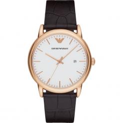 Zegarek EMPORIO ARMANI - Luigi AR2502 Dark Brown/Rose Gold. Brązowe zegarki męskie marki Emporio Armani. Za 809,00 zł.