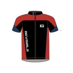 IQ koszulka rowerowa Ruven Black/ Navy Peony/ Valiant Poppy r. M. Szare odzież rowerowa męska marki IQ, l. Za 90,56 zł.