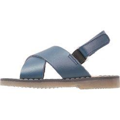 Babywalker Sandały blue. Szare sandały męskie skórzane marki Babywalker, klasyczne. W wyprzedaży za 209,30 zł.