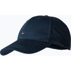 Tommy Hilfiger - Męska czapka z daszkiem, niebieski. Niebieskie czapki z daszkiem męskie TOMMY HILFIGER, w jednolite wzory, z bawełny, klasyczne. Za 129,95 zł.