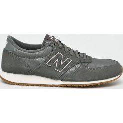 New Balance - Buty WL420GPG. Szare buty sportowe damskie New Balance, z materiału. W wyprzedaży za 299,90 zł.