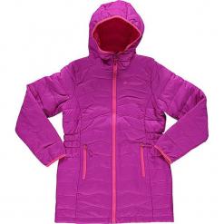 """Kurtka funkcyjna """"Adrianno"""" w kolorze fioletowo-różowym. Czerwone kurtki dziewczęce przeciwdeszczowe marki Reserved, z kapturem. W wyprzedaży za 208,95 zł."""