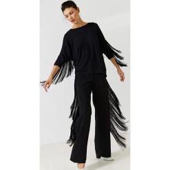 Simple - Bluzka. Czarne bluzki nietoperze marki bonprix, eleganckie. W wyprzedaży za 279,90 zł.