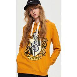Bluzy damskie: Bluza harry potter – Żółty