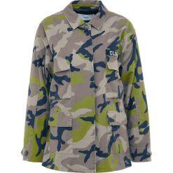 CLOSED DRAGONFLY Kurtka wiosenna leaves. Brązowe kurtki damskie CLOSED, l, z bawełny. W wyprzedaży za 603,60 zł.