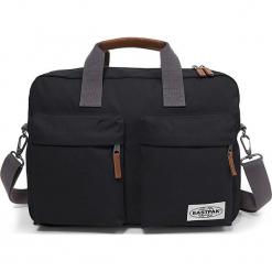 """Torba """"Tomec"""" w kolorze antracytowym na laptopa - 39 x 28 x 12 cm. Szare torby na laptopa marki Eastpak, w paski, z materiału. W wyprzedaży za 152,95 zł."""