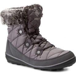 Śniegowce COLUMBIA - Heavenly Shorty Omni-Heat BL1652 Quarry/Dove 052. Szare buty zimowe damskie Columbia, z materiału. W wyprzedaży za 289,00 zł.
