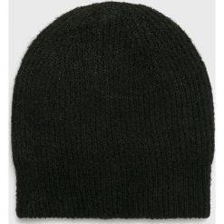 Only - Czapka Tessie. Szare czapki zimowe damskie marki ONLY, s, z bawełny, z okrągłym kołnierzem. Za 59,90 zł.