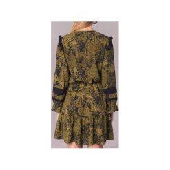 Sukienki krótkie Scotch   Soda  NOONPL. Zielone sukienki mini marki Scotch & Soda, l, z krótkim rękawem. Za 639,20 zł.