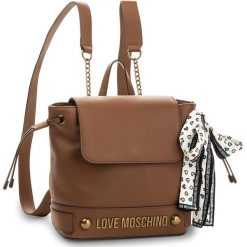 Plecaki damskie: Plecak LOVE MOSCHINO – JC4348PP05K60200  Cuoio