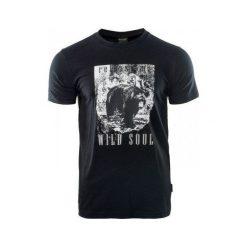 Hi-tec Koszulka męska HOLZ ANTHRACITE czarna r. S. Czarne koszulki sportowe męskie Hi-tec, m. Za 35,24 zł.