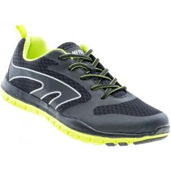 Buty do biegania męskie: Hi-Tec Buty Iberis Black/Lime/Silver 43
