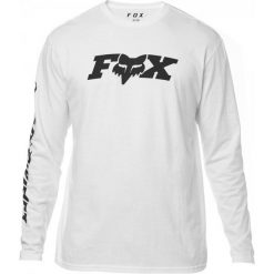 FOX T-Shirt Męski Race Team Xxl Biały. Szare t-shirty męskie marki FOX, z bawełny. Za 184,00 zł.