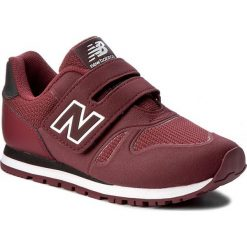 Sneakersy NEW BALANCE - KA373BDY Bordowy. Czerwone trampki chłopięce marki New Balance, z materiału, na rzepy. W wyprzedaży za 199,00 zł.