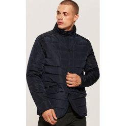 Pikowana kurtka - Granatowy. Niebieskie kurtki męskie pikowane House, l. Za 199,99 zł.