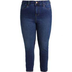 New Look Curves SUPER SOFT FUSCIA RINSE Jeans Skinny Fit indigo. Niebieskie rurki damskie New Look Curves. Za 129,00 zł.