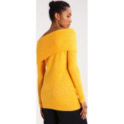 Swetry damskie: Vila VIKNITTI Sweter cadmium yellow
