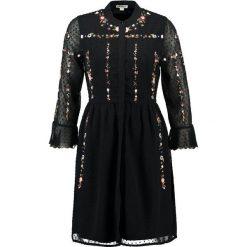 Sukienki hiszpanki: Whistles AMIRA EMBROIDERED  Sukienka koszulowa black/multi