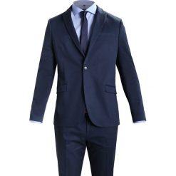 Pier One Garnitur dark blue. Niebieskie garnitury Pier One, z bawełny. Za 509,00 zł.
