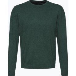 Finshley & Harding - Sweter męski – Pima-Cotton/Kaszmir, zielony. Zielone swetry klasyczne męskie Finshley & Harding, l, z bawełny. Za 229,95 zł.