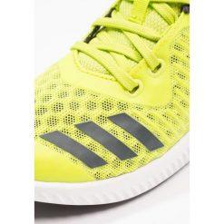 Adidas Performance FORTARUN COOL Obuwie do biegania treningowe semi solar yellow/carbon/footwear white. Białe buty do biegania męskie adidas Performance, z gumy. Za 179,00 zł.