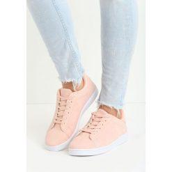 Różowe Buty Sportowe Relaxation. Fioletowe buty sportowe damskie marki KALENJI, z gumy, do biegania. Za 49,99 zł.