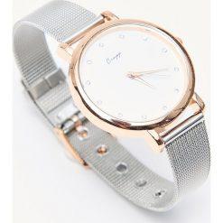 Zegarki damskie: Zegarek na cienkiej bransoletce - Srebrny