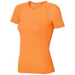 Odlo Koszulka damska s/s crew neck Evolution X-light pomarańczowa r. S. Brązowe topy sportowe damskie Odlo, s. Za 149,95 zł.