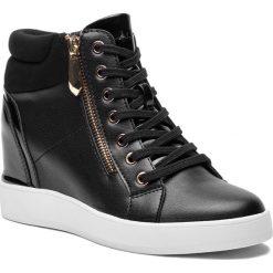 Sneakersy ALDO - Ailanna 56853037 96. Czarne sneakersy damskie ALDO, z materiału. W wyprzedaży za 229,00 zł.