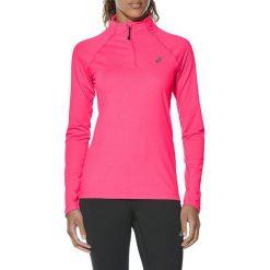Asics Bluza damska LS 1/2 Zip Jersey różowa r. M (141647-6039). Czerwone bluzy sportowe damskie Asics, m, z jersey. Za 224,18 zł.