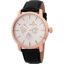 """Zegarki męskie: Zegarek """"Adelaide"""" w kolorze czarno-różowozłoto-białym"""