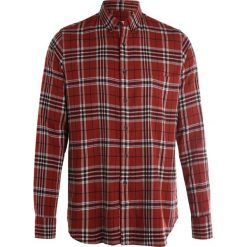 Koszule męskie na spinki: Loreak HARVEST Koszula burgundy