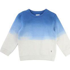 Odzież niemowlęca: Bluza w kolorze błękitno-białym