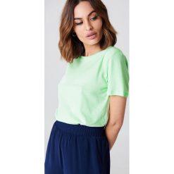 NA-KD Basic T-shirt basic - Green. Różowe t-shirty damskie marki NA-KD Basic, z bawełny. W wyprzedaży za 21,18 zł.