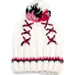 Czapki damskie: Art of Polo Czapka damska i zimowe wzory biała (cz2605)