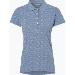 Bluzki sportowe damskie: Marie Lund – Damska koszulka polo, niebieski