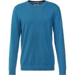 Tommy Jeans ESSENTIAL Sweter blue. Niebieskie swetry klasyczne męskie Tommy Jeans, m, z bawełny. Za 379,00 zł.