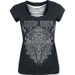 Dimmu Borgir Eonian - Pentagram Koszulka damska czarny. Czarne bluzki asymetryczne Dimmu Borgir, xl. Za 99,90 zł.