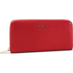 Duży Portfel Damski COCCINELLE - DW5 Metallic Soft E2 DW5 11 04 01 Coquelicot R09. Czerwone portfele damskie Coccinelle, ze skóry. Za 599,90 zł.