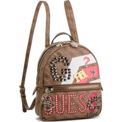 Plecak GUESS - HWSS7 184320 BML. Brązowe plecaki damskie Guess, z aplikacjami, ze skóry ekologicznej. Za 589,00 zł.