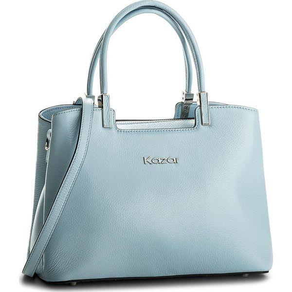 87c0ae88c4fd9 Torebka KAZAR - Sidney 32417-01-85 Blue - Niebieskie torebki ...