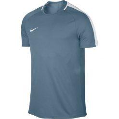 Nike Koszulka Dry Academy Top SS niebieska r. L. Niebieskie koszulki sportowe męskie marki Nike, l. Za 79,00 zł.
