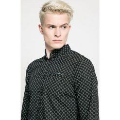 Blend - Koszula. Szare koszule męskie na spinki marki Blend, l, z bawełny, button down, z długim rękawem. W wyprzedaży za 79,90 zł.