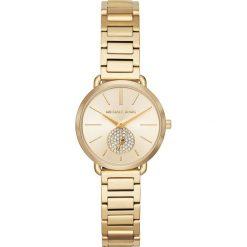 Zegarek MICHAEL KORS - Portia MK3838 Gold/Gold. Żółte zegarki damskie Michael Kors. Za 1050,00 zł.